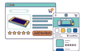 Transformacja strony internetowej z wersji na komputer do wersji mobilnej